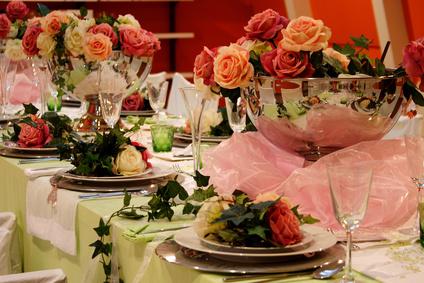 Blumen und professionelle Floristik sind die Basis für die perfekte Deko zu Hochzeiten und Events in Lübeck und Schleswig-Holstein - Diana Kosaric - Fotolia.com